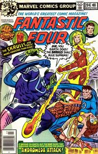 Cover Thumbnail for Fantastic Four (Marvel, 1961 series) #204