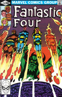 Cover Thumbnail for Fantastic Four (Marvel, 1961 series) #232 [Direct Edition]