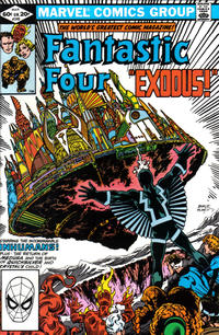 Cover Thumbnail for Fantastic Four (Marvel, 1961 series) #240 [Direct Edition]