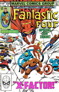 Cover Thumbnail for Fantastic Four (Marvel, 1961 series) #250 [Direct]
