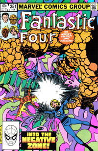 Cover Thumbnail for Fantastic Four (Marvel, 1961 series) #251 [Direct Edition]
