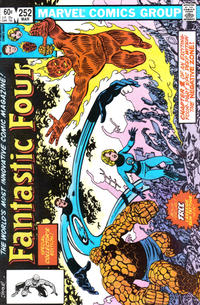 Cover Thumbnail for Fantastic Four (Marvel, 1961 series) #252 [Direct]