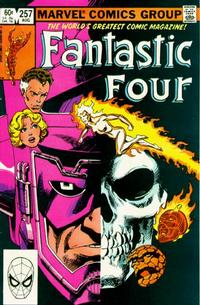 Cover Thumbnail for Fantastic Four (Marvel, 1961 series) #257 [Direct Edition]