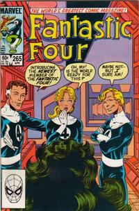 Cover Thumbnail for Fantastic Four (Marvel, 1961 series) #265 [Direct]
