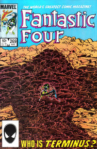 Cover Thumbnail for Fantastic Four (Marvel, 1961 series) #269 [Direct]