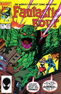 Cover Thumbnail for Fantastic Four (Marvel, 1961 series) #271 [Direct]