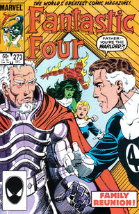 Cover Thumbnail for Fantastic Four (Marvel, 1961 series) #273 [Direct]