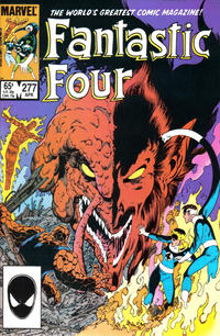 Cover Thumbnail for Fantastic Four (Marvel, 1961 series) #277 [Direct]