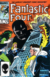 Cover Thumbnail for Fantastic Four (Marvel, 1961 series) #278 [Direct]