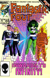 Cover Thumbnail for Fantastic Four (Marvel, 1961 series) #282 [Direct]