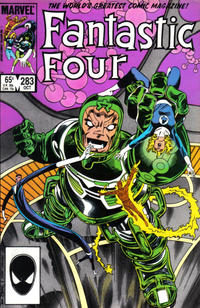Cover Thumbnail for Fantastic Four (Marvel, 1961 series) #283 [Direct]