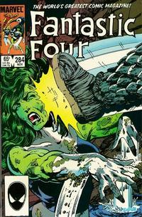 Cover Thumbnail for Fantastic Four (Marvel, 1961 series) #284 [Direct]