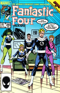 Cover Thumbnail for Fantastic Four (Marvel, 1961 series) #285 [Direct Edition]