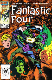 Cover Thumbnail for Fantastic Four (Marvel, 1961 series) #290 [Direct Edition]