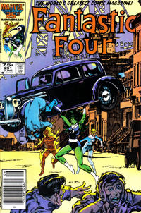 Cover Thumbnail for Fantastic Four (Marvel, 1961 series) #291 [Newsstand Edition]