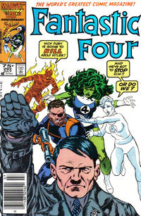 Cover Thumbnail for Fantastic Four (Marvel, 1961 series) #292 [Newsstand Edition]