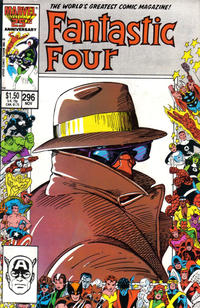 Cover Thumbnail for Fantastic Four (Marvel, 1961 series) #296 [Direct Edition]