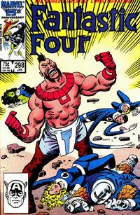 Cover Thumbnail for Fantastic Four (Marvel, 1961 series) #298 [Direct Edition]