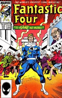 Cover Thumbnail for Fantastic Four (Marvel, 1961 series) #302 [Direct]
