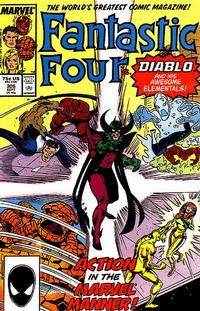 Cover Thumbnail for Fantastic Four (Marvel, 1961 series) #306 [Direct Edition]