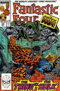 Cover for Fantastic Four (Marvel, 1961 series) #320 [Newsstand Edition]