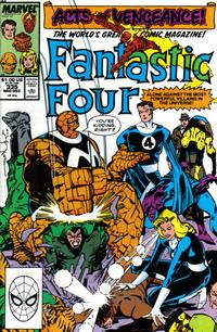 Cover Thumbnail for Fantastic Four (Marvel, 1961 series) #335 [Direct Edition]