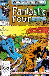 Cover Thumbnail for Fantastic Four (Marvel, 1961 series) #336 [Direct Edition]