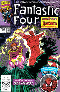 Cover Thumbnail for Fantastic Four (Marvel, 1961 series) #342 [Direct]