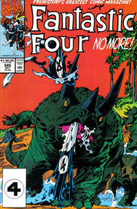 Cover Thumbnail for Fantastic Four (Marvel, 1961 series) #345 [Direct Edition]