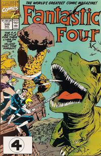 Cover Thumbnail for Fantastic Four (Marvel, 1961 series) #346 [Direct Edition]