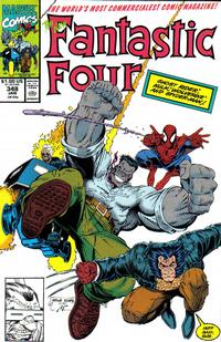 Cover Thumbnail for Fantastic Four (Marvel, 1961 series) #348 [Direct]