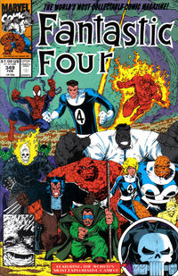 Cover for Fantastic Four (Marvel, 1961 series) #349 [Direct Edition]