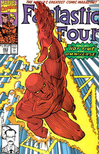 Cover Thumbnail for Fantastic Four (Marvel, 1961 series) #353 [Direct]