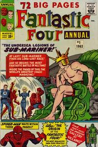 Cover Thumbnail for Fantastic Four Annual (Marvel, 1963 series) #1