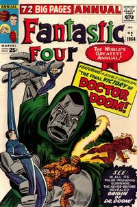 Cover Thumbnail for Fantastic Four Annual (Marvel, 1963 series) #2