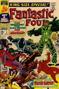 Cover Thumbnail for Fantastic Four Annual (Marvel, 1963 series) #5