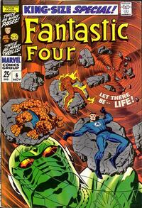Cover Thumbnail for Fantastic Four Annual (Marvel, 1963 series) #6