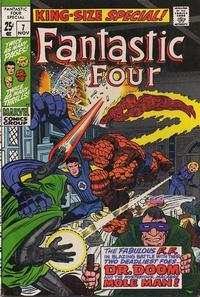 Cover Thumbnail for Fantastic Four Annual (Marvel, 1963 series) #7