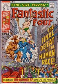 Cover Thumbnail for Fantastic Four Annual (Marvel, 1963 series) #8