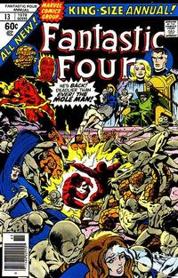 Cover Thumbnail for Fantastic Four Annual (Marvel, 1963 series) #13