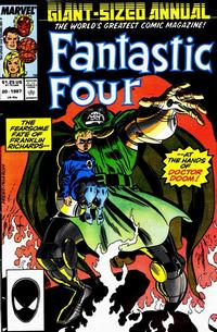 Cover Thumbnail for Fantastic Four Annual (Marvel, 1963 series) #20 [Direct Edition]