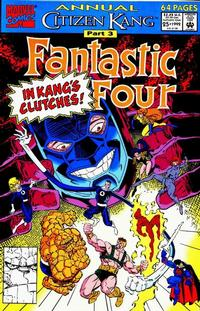 Cover Thumbnail for Fantastic Four Annual (Marvel, 1963 series) #25 [Direct Edition]