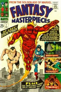 Cover Thumbnail for Fantasy Masterpieces (Marvel, 1966 series) #7