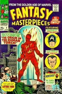 Cover Thumbnail for Fantasy Masterpieces (Marvel, 1966 series) #9