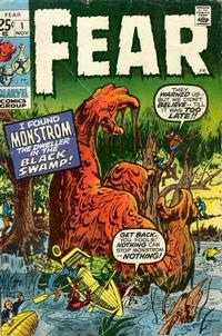 Cover Thumbnail for Fear (Marvel, 1970 series) #1