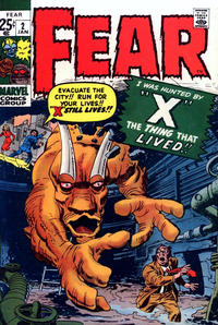 Cover Thumbnail for Fear (Marvel, 1970 series) #2