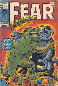 Cover Thumbnail for Fear (Marvel, 1970 series) #3