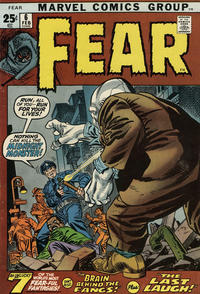 Cover Thumbnail for Fear (Marvel, 1970 series) #6