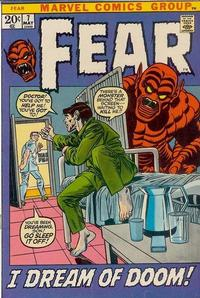 Cover Thumbnail for Fear (Marvel, 1970 series) #7