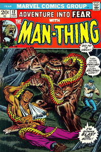 Cover Thumbnail for Fear (Marvel, 1970 series) #12